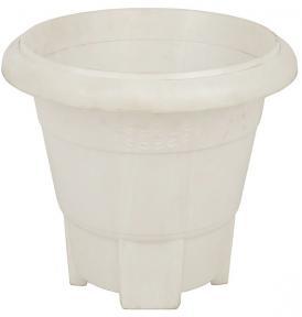 Цветочный горшок напольный №6 30л белый