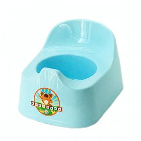 Горшок детский пластмассовый  Малятко  голубой
