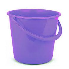 Ведро пластмассовое 10л эконом фиолетовое