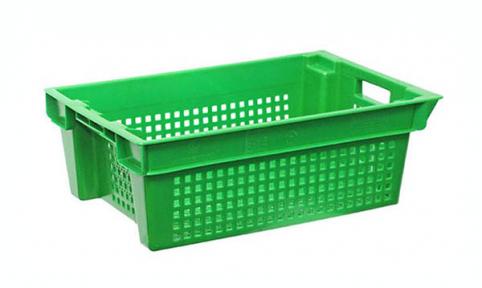 Ящик продуктовый б/у 600х400х200 зелёный