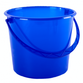 Ведро пластмассовое 18л синее