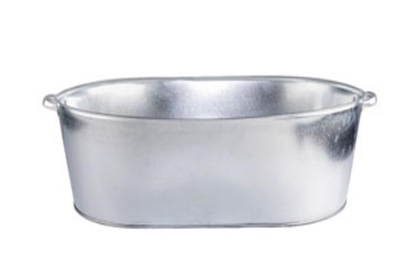 Ванна оцинкованная 100л. хозяйственная