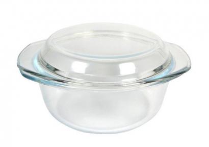 Кастрюля стеклянная 2.0л