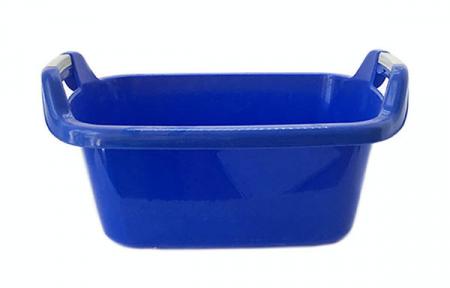 Таз пластмассовый 35л овальный синий