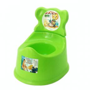 Горшок детский со спинкой пластмассовый Орифлейм