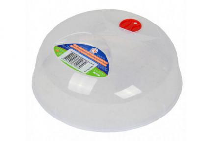 Крышка для СВЧ пластмассовая 250мм с клапаном