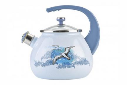 Чайник эмалированный 2.5л 2711 LAUREL LiО Чайка