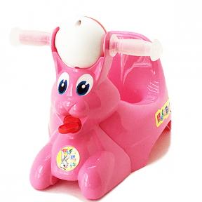 Горшок детский пластмассовый  Вags Bunny  розовый