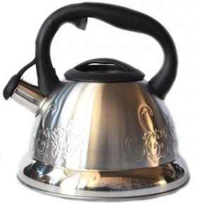 Чайник из нержавеющей стали 3.0л со свистком 1235