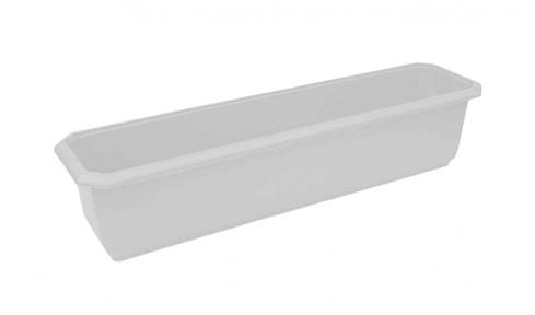 Цветочный горшок балконный №2 790х180мм белый