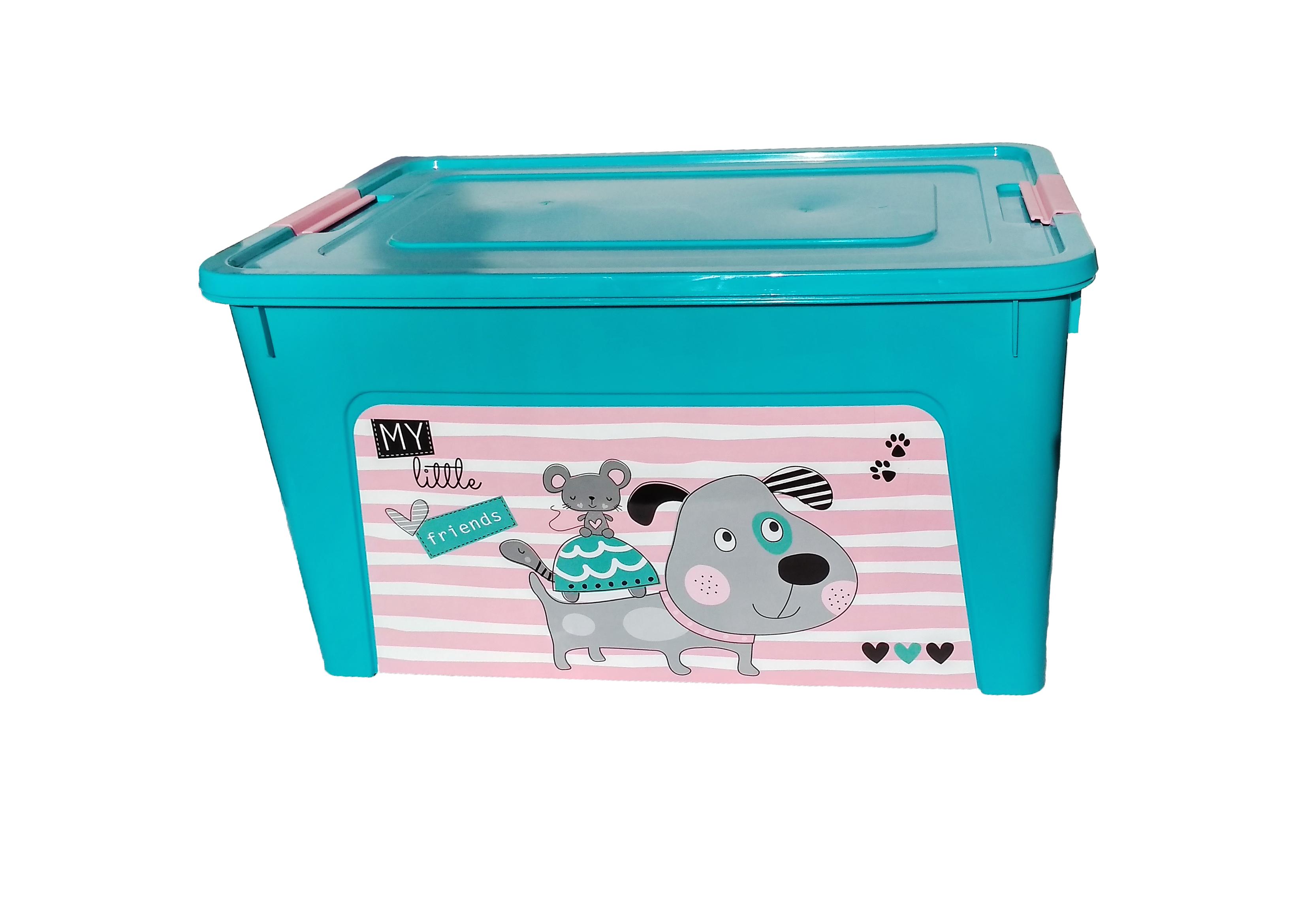 Контейнер пластмассовый Smart Box 27л PetShop