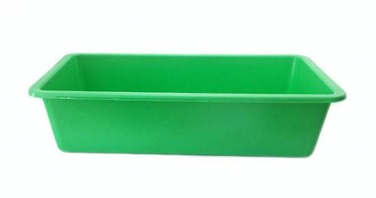 Корыто пластмассовое 55л зеленое