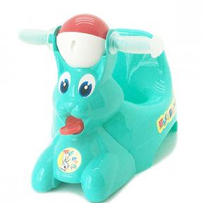 Горшок детский пластмассовый  Вags Bunny  бирюза