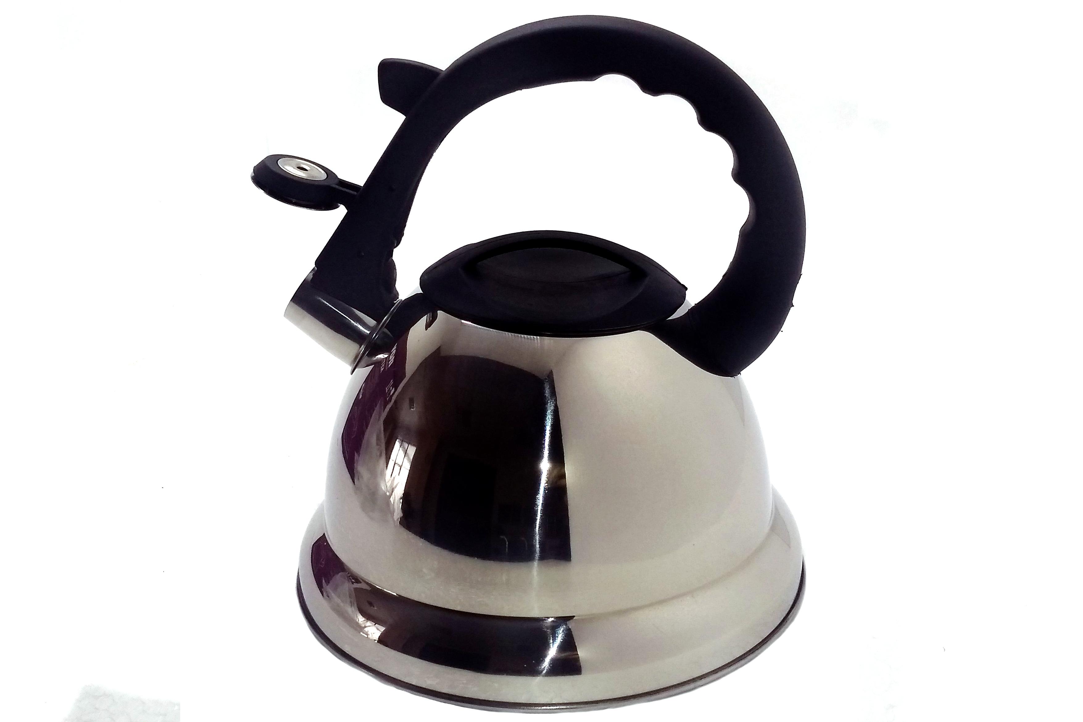 Чайник нержавеющий 2.8л. со свистком