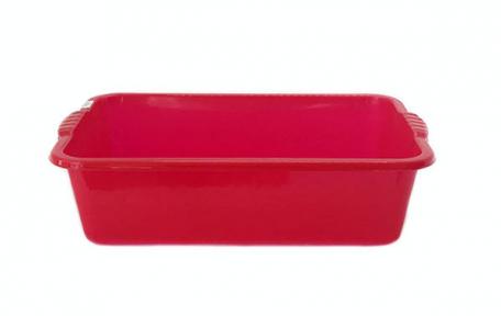 Корыто 20л пластмассовое красное