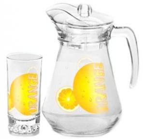 Набор для сока 7 предметов 1029 Апельсин