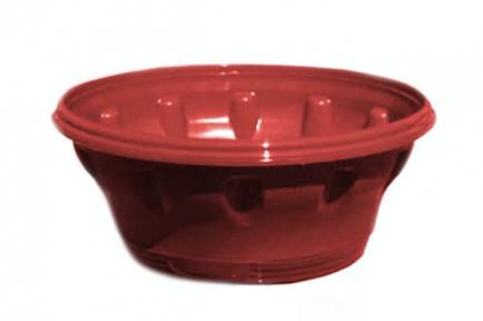 Цветочный горшок Жанна №1 1.6 коричневый
