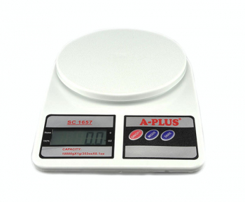 Весы кухонные электронные без чаши 7.0кг 1657