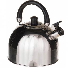 Чайник из нержавеющей стали 3.0л со свистком 1322