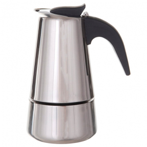 Кофеварка из нержавеющей стали на 4 чашки 2087