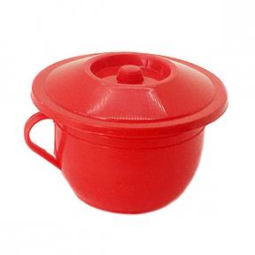 Горшок детский пластмассовый красный