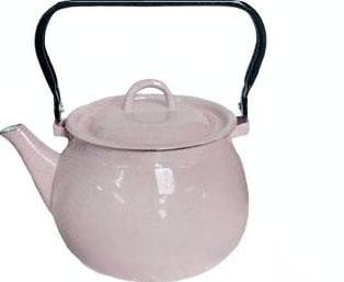 Чайник эмалированный 2.5л 27101/4 Розовый