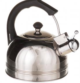 Чайник из нержавеющей стали 2.5л со свистком 1324