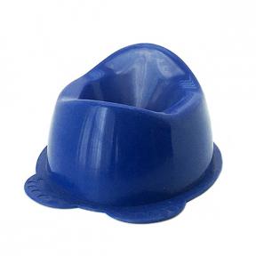 Горшок детский пластмассовый  Панда  синий