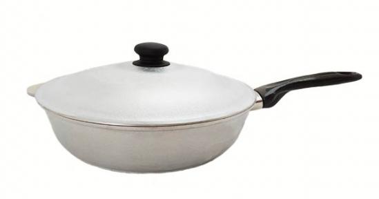 Сковорода алюминиевая литая 310 мм углубленная Д