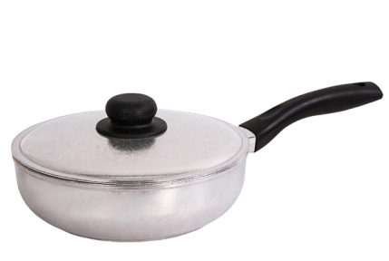 Сковорода алюминиевая литая Блеск 180 мм 1807БК