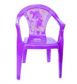 Кресло детское пластамассовое Пчёлка/Белочка