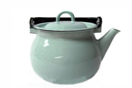 Чайник эмалированный 2.5л 27101/4 Бирюзовый