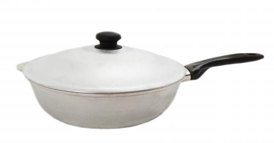 Сковорода алюминиевая литая 300мм глубокая П