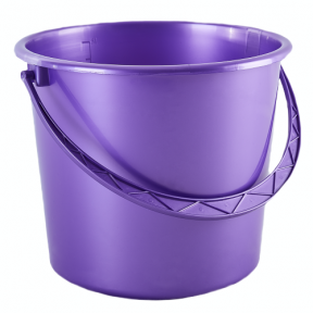 Ведро пластмассовое 18л фиолетовое