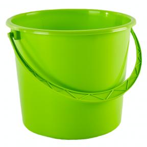 Ведро пластмассовое 18л светло-зелёное