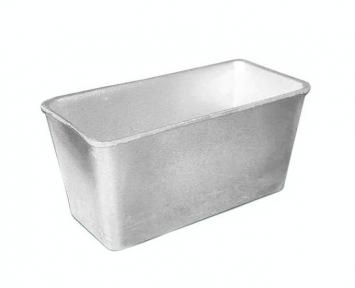 Форма для хлеба алюминиевая литая 800г Д