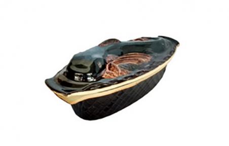 Горшок глиняный  Рыба