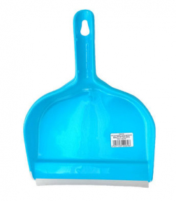 Совок для мусора пластмассовый  Клип  с резинкой
