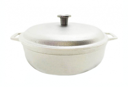 Казан алюминиевый литой 1.0л П