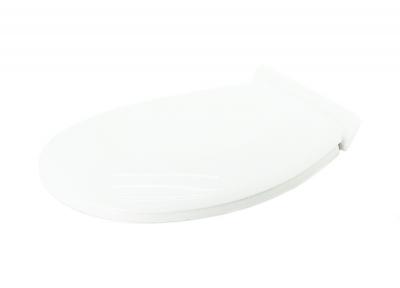 Сиденье унитаза пластмассовое S-21 белое