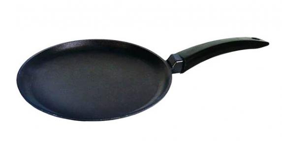 Сковорода алюминиевая блинная 220 мм 2208П антипригарная