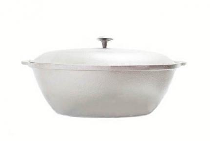Гусятница алюминиевая литая 5.0л Д