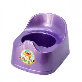 Горшок детский пластмассовый  Малятко  фиолетовый