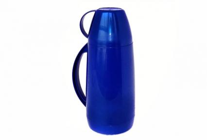 Термос пласт/стекло 1.0л  Капсула  2645