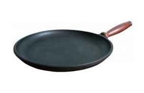 Сковорода чугунная блинная 240х25мм