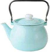 Чайник эмалированный 2.5л 2710/4 Бирюзовый