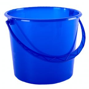 Ведро пластмассовое 5.0л синее