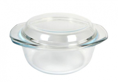 Кастрюля стеклянная 1.0л