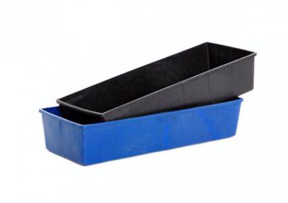 Ящик для рассады пластмассовый №1 чёрный