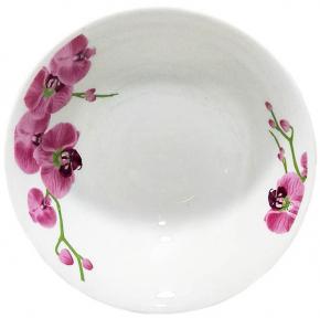 Салатник керамический Орхидея №7  04
